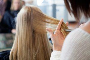 Hairdresser injury