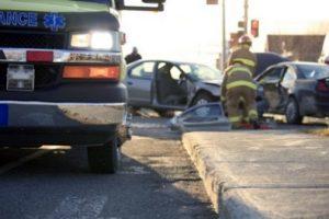 Stolen vehicle accident