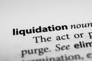 claim against a company in liquidation