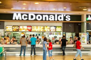 Accident at McDonald's