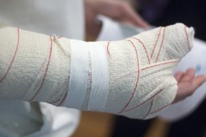 Serious Forearm Fracture