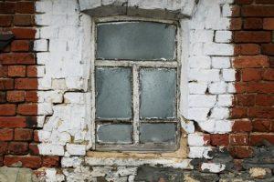 Rotten windows doors