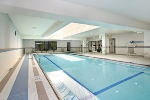 Swimming pool accident London