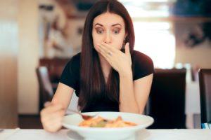 Allergic reaction in restaurant