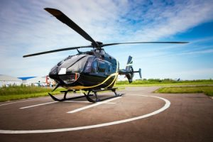 Helicopter accident claim