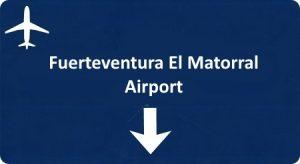 Fuerteventura El Matorral airport