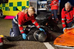 Motorcycle accident without insurance