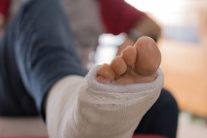 sprained ankle injury claims